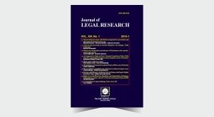 Journal of Legal Research - Number 27
