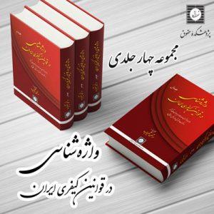 واژه شناسی در قوانین کیفری ایران