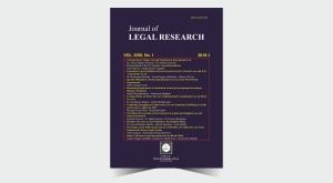 Journal of Legal Research - Number 37