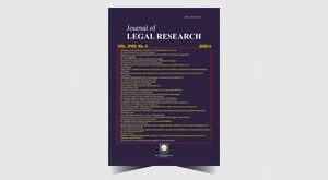 The Journal of Legal Research - 40
