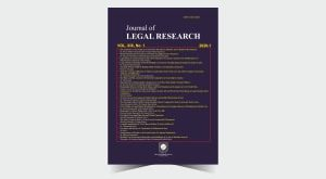 Journal of Legal Research - Number 41