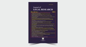 Journal of Legal Research - Number 43